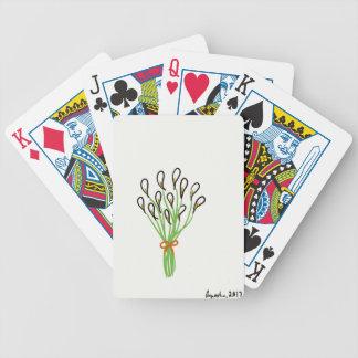 Baralhos Para Pôquer Lírios de Calla