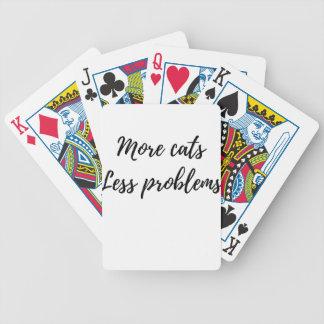 Baralhos Para Pôquer Mais gatos, menos problemas