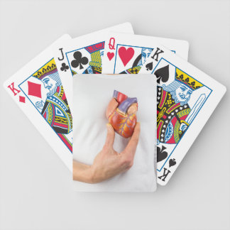 Baralhos Para Pôquer Mão que guardara o coração modelo na caixa