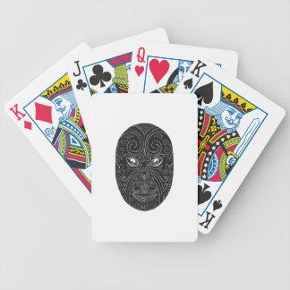 Baralhos Para Pôquer Máscara maori Scratchboard