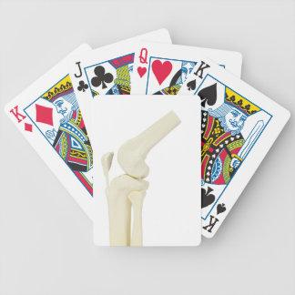 Baralhos Para Pôquer Modelo da articulação do joelho do pé humano