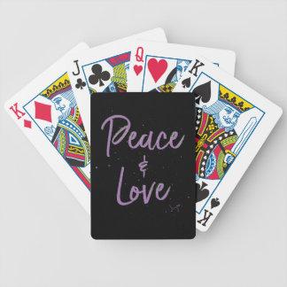 Baralhos Para Pôquer Paz-e-Amor-Roxo