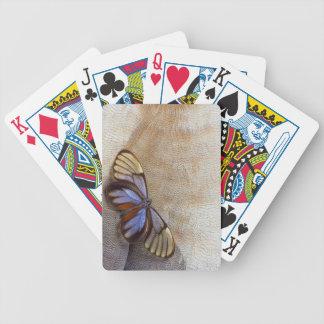 Baralhos Para Pôquer pena egípcia do ganso da borboleta da Vidro-asa