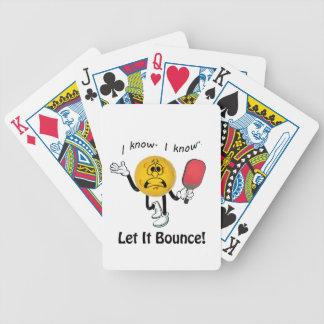 Baralhos Para Pôquer Pickleball: Deixais lhe para saltar