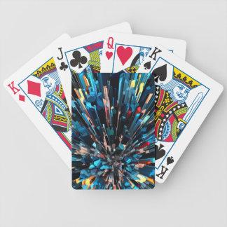 Baralhos Para Pôquer Pilhas tridimensionais da cor