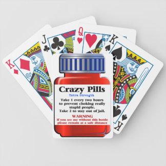 Baralhos Para Pôquer Pills_ louco