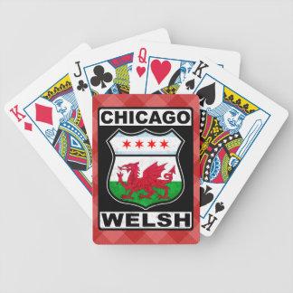 Baralhos Para Pôquer Plataforma de cartão americana de Chicago Galês