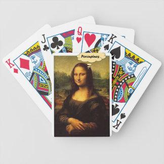 Baralhos Para Pôquer Porcos- de Mona Lisa