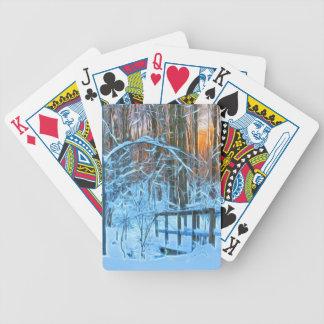 Baralhos Para Pôquer Pouca ponte nas madeiras