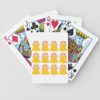 Baralhos Para Pôquer Pouco design dos anjos do ouro