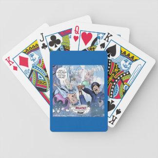 Baralhos Para Pôquer Presentes engraçados de Londres do rick das linhas