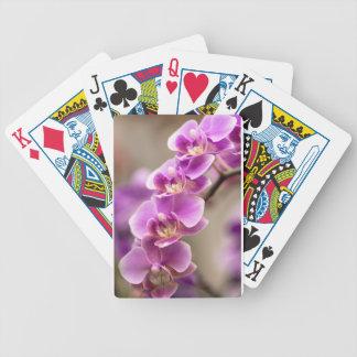 Baralhos Para Pôquer Profundamente - corrente de flor cor-de-rosa da
