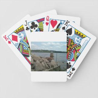 Baralhos Para Pôquer Rio Mississípi de Riverwalk Dubuque Iowa