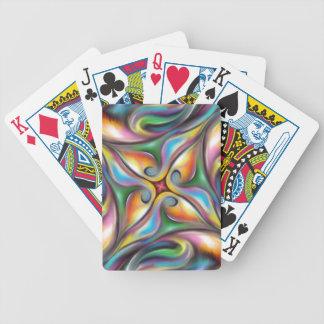 Baralhos Para Pôquer Roda colorida transições macia misturadas da