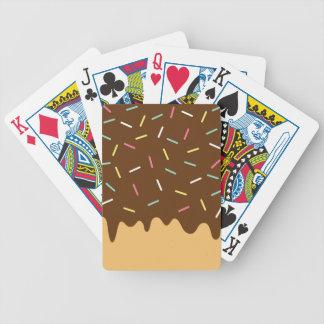 Baralhos Para Pôquer Rosquinha do chocolate