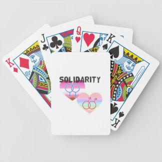 Baralhos Para Pôquer Solidariedade alegre lésbica