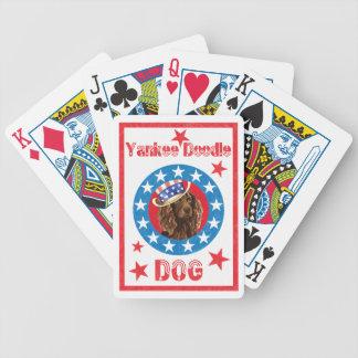 Baralhos Para Pôquer Spaniel patriótico de Boykin