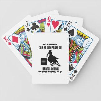 Baralhos Para Pôquer Tendendo o design da Tambor-equitação