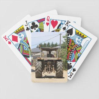 Baralhos Para Pôquer Trator cinzento no EL Camino, espanha