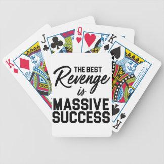 Baralhos Para Pôquer Vingança do sucesso