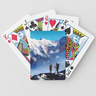 Baralhos Para Pôquer Vista panorâmica da montanha máxima de Ama Dablam