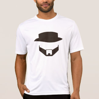 Barba & Chapéu - Original Camiseta