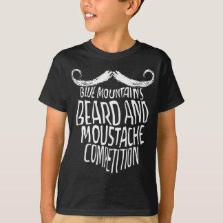 Barba das montanhas e competição azuis do camiseta