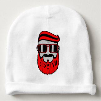 barba vermelha gorro para bebê