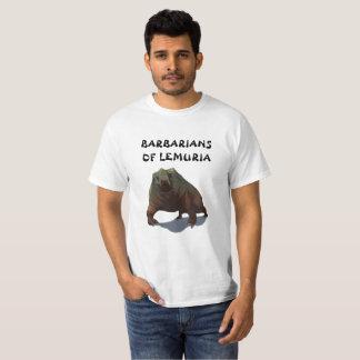 Bárbaros da camisa de Lemuria Deodarg T