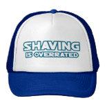 Barbeando é avaliado em excesso, crescem um bigode boné