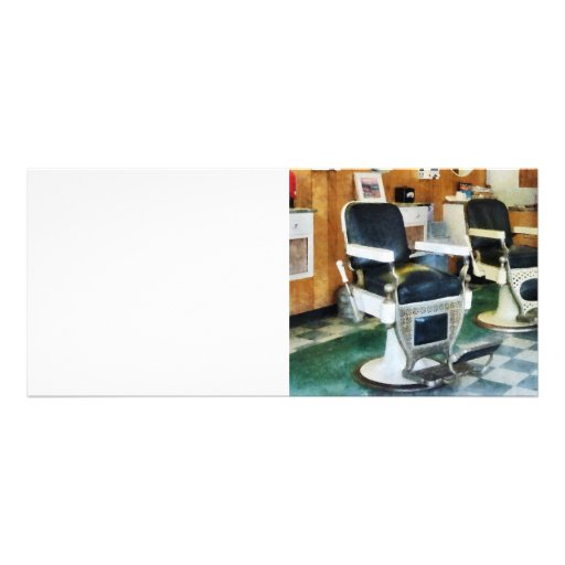 Barbearia de canto planfetos informativos coloridos