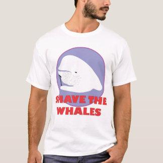 Barbeie a camisa das baleias