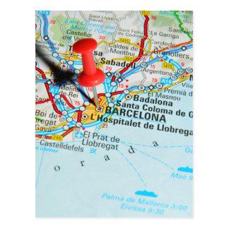 Barcelona, espanha cartão postal