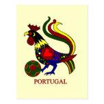 """Barcelos """"galo"""" jogador de futebol de Portugal Cartão Postal"""
