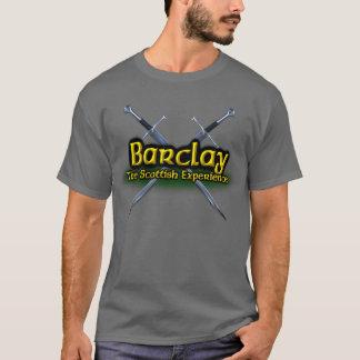 Barclay o clã escocês da experiência camiseta