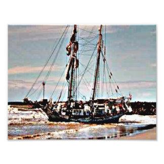 Barco abandonado fotos