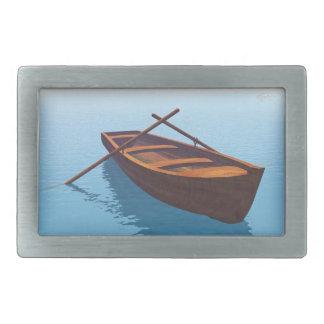 Barco de madeira - 3D rendem