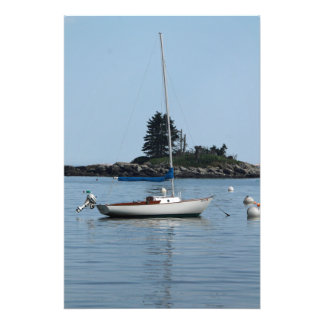 Barco de vela impressão de foto