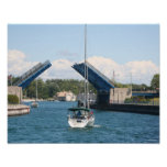 Barco em Charlevoix, Michigan Posteres