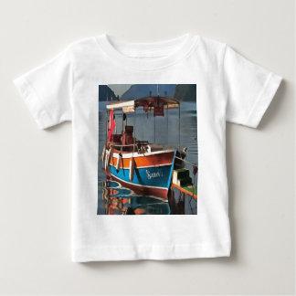 Barco Marmaris do táxi da sultão Camiseta Para Bebê