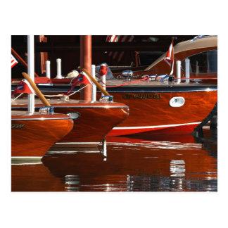 Barcos de madeira clássicos, Lake Tahoe… Cartão Postal