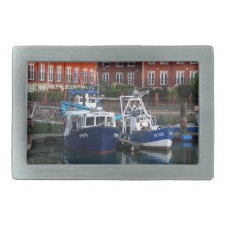 Barcos de pesca, Portsmouth, Inglaterra