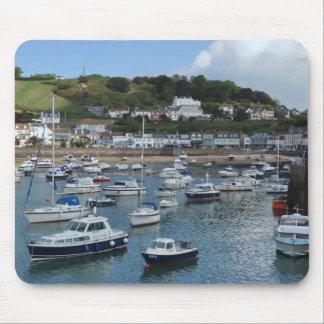 Barcos Mousepad do porto de Gorey