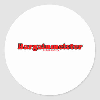 Bargainmeister Adesivo Em Formato Redondo