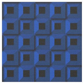 Barnacles no tecido azul