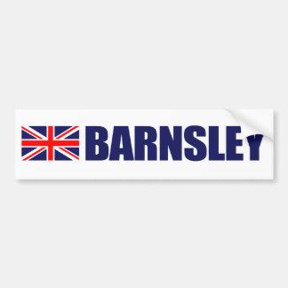 Barnsley, bandeira britânica adesivo para carro