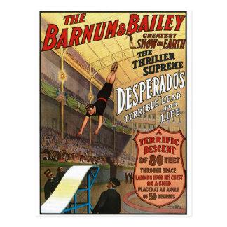 Barnum e pulo do malfeitor de Bailey para a vida Cartão Postal