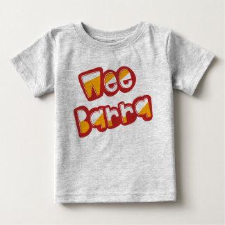 Barra pequenino, camiseta escocesa do dialecto,