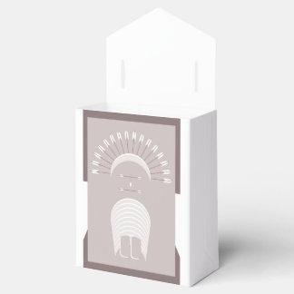 Barraca com a MANTILHA da SETA da caixa do favor Caixinhas De Lembrancinhas Para Casamentos