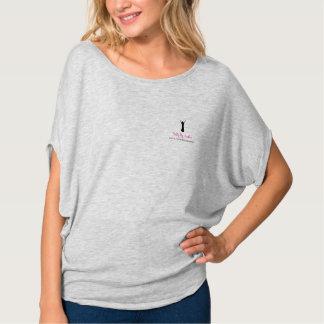 Barriga de fluxo pelo t-shirt da urze camiseta